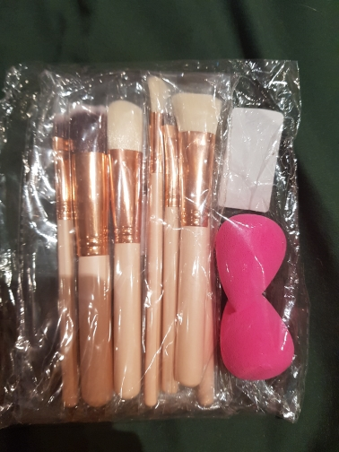 8Pcs Rose Gold Makeup Brushes Eyeshadow Powder Blush Fondation Brushes Make Up Tool With 2pc Sponge Puff Cosmetic Kit Dropship cosmetic kit brush eyeshadowrose gold makeup brushes - AliExpress
