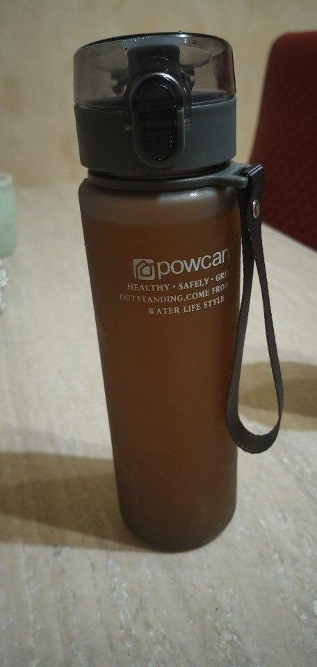 HOT Water Bottle 800ml 1000ml Plastic Direct Drinking Bottle School Water Bottles Shaker Bottle Gourde En Plastique Sport-in Water Bottles from Home & Garden on AliExpress