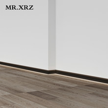 MR.XRZ 4.5W Recessed Trimless Skirting Board Led Aluminum Profile Lights Floor Land Lamps For Indoor Ambient Lighting