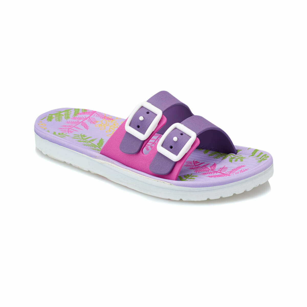 FLO TERTIN Purple Female Child Slippers KINETIX