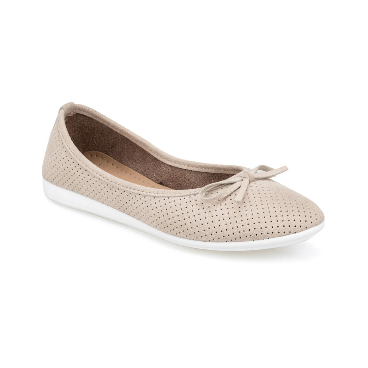 FLO 91.150742SZ Sand Color Women Ballerina Polaris