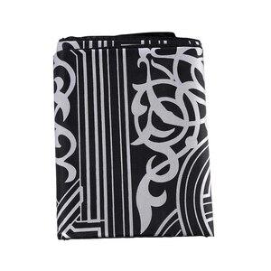 Image 4 - 100x60cm dört renk taşınabilir dua halı diz çökmüş poli Mat müslüman İslam su geçirmez seccade halı cep boyutu tote çanta