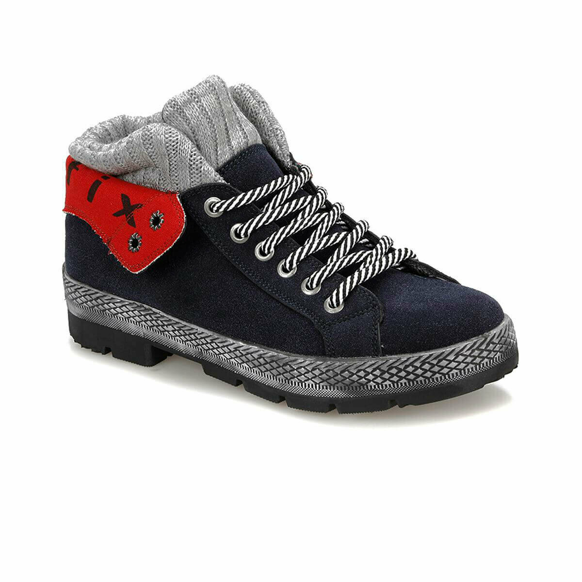 FLO REMI G Navy Blue Male Child Boots KINETIX title=