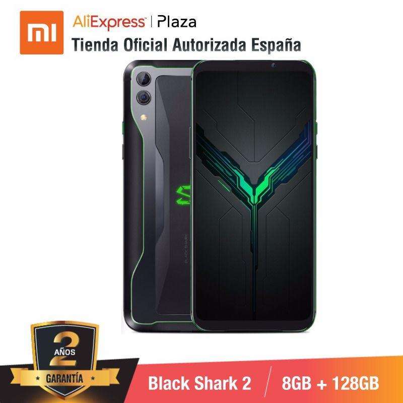 [Version mondiale pour l'espagne] Xiaomi Black Shark 2 (mémoire interna de 128 go, RAM de 8 go, Camara dual de 48MP + 12MP, téléphone de jeu)