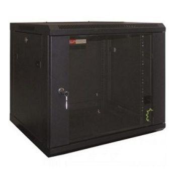 Wall-mounted Rack Cabinet WP WPN-RWB-12606- 12 U 600 x 600 x 635 mm Black