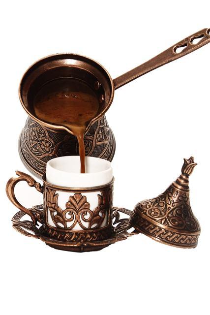Ibrik Turkish Coffee Pot Copper Cezve  1