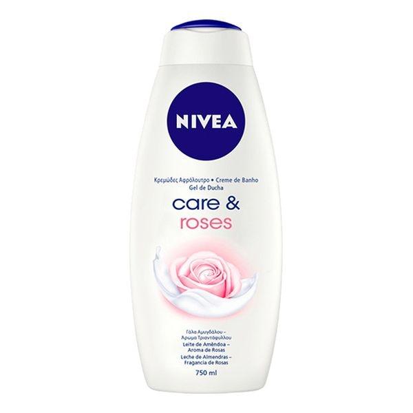 Shower Gel Care & Roses Nivea (750 Ml)
