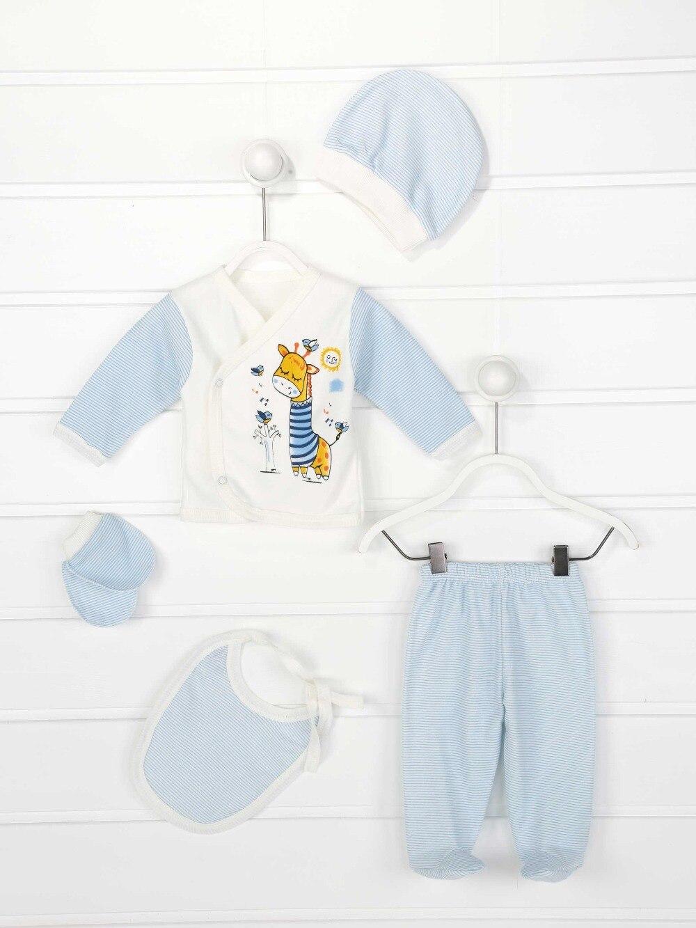 082-7125-015 Mavi Yenidoğan Erkek Bebek 5 li Hastane Çıkışı (1)