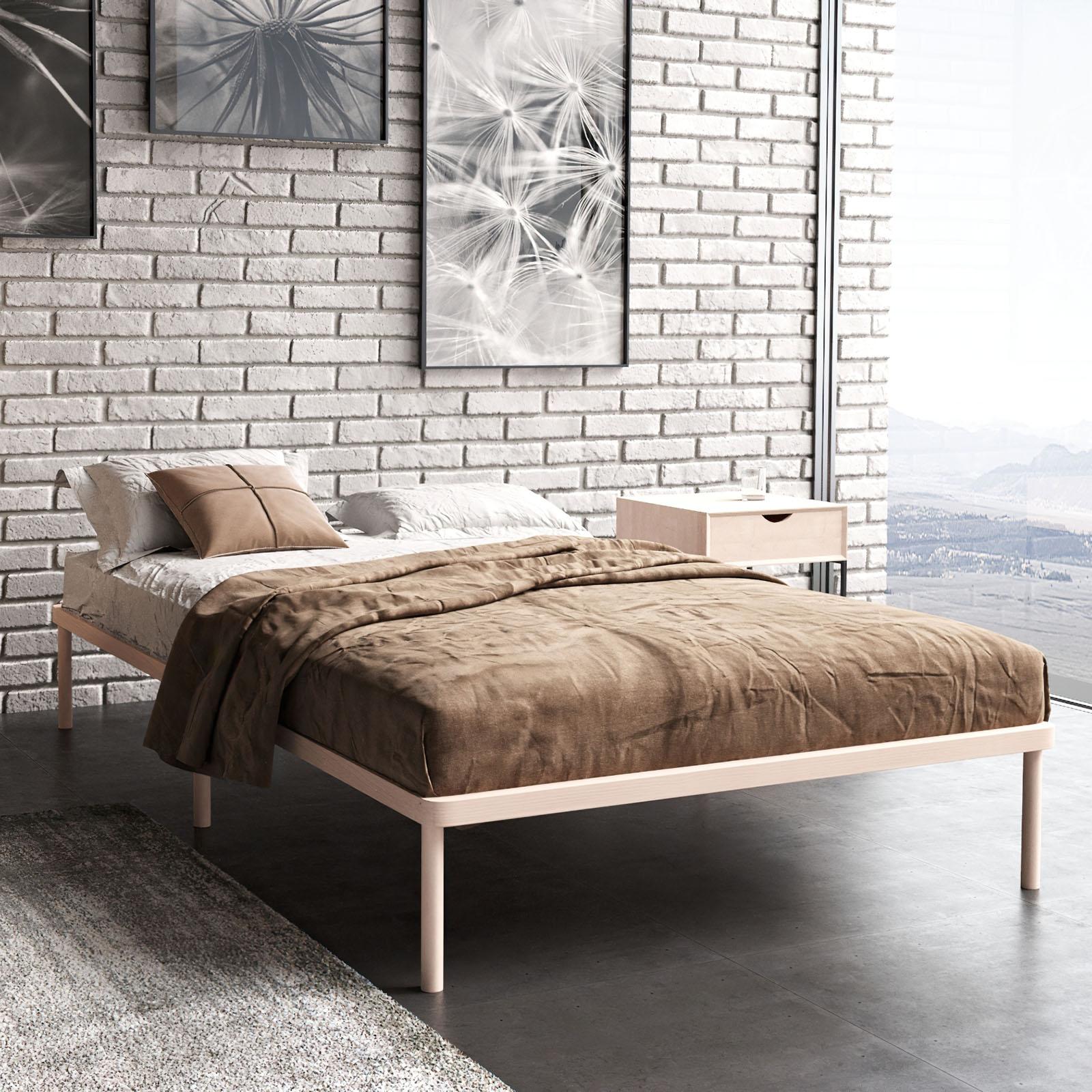Односпальная кровать Light Sleep 80x200 см