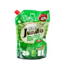 Jundo Концентрированный ЭКО гель с гиалуроновой кислотой для мытья посуды и детских принадлежностей «Green tea with Mint»,800мл
