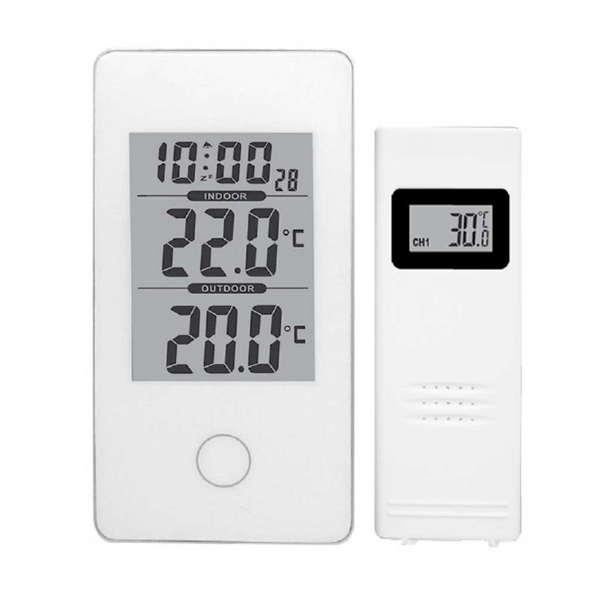 Digital Wireless Weather Station Indoor/Outdoor 7hSevenOn Elec