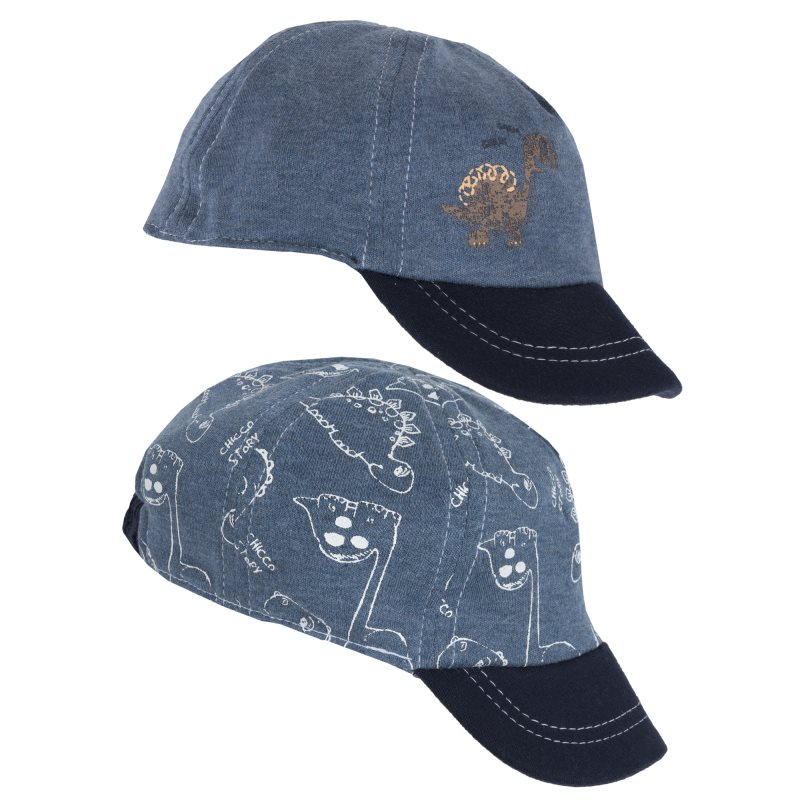 Baseball Cap Chicco, size 048, color blue unique numbers label adjustable baseball cap
