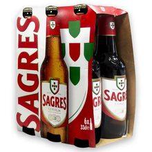 Pack 6 Beers Sagres Bottle 33cl