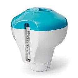Thermomètre et distributeur pour la piscine, FEELY, qualité, 2 en 1, INTEX,