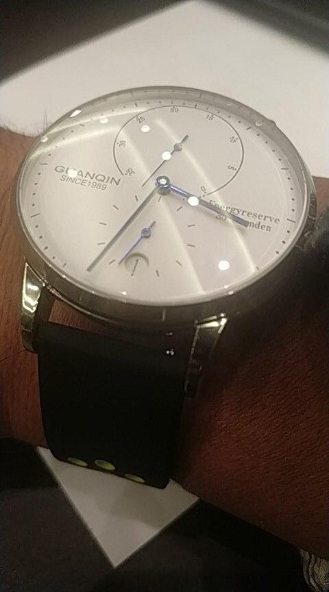 -- Masculino Negócios Relógios