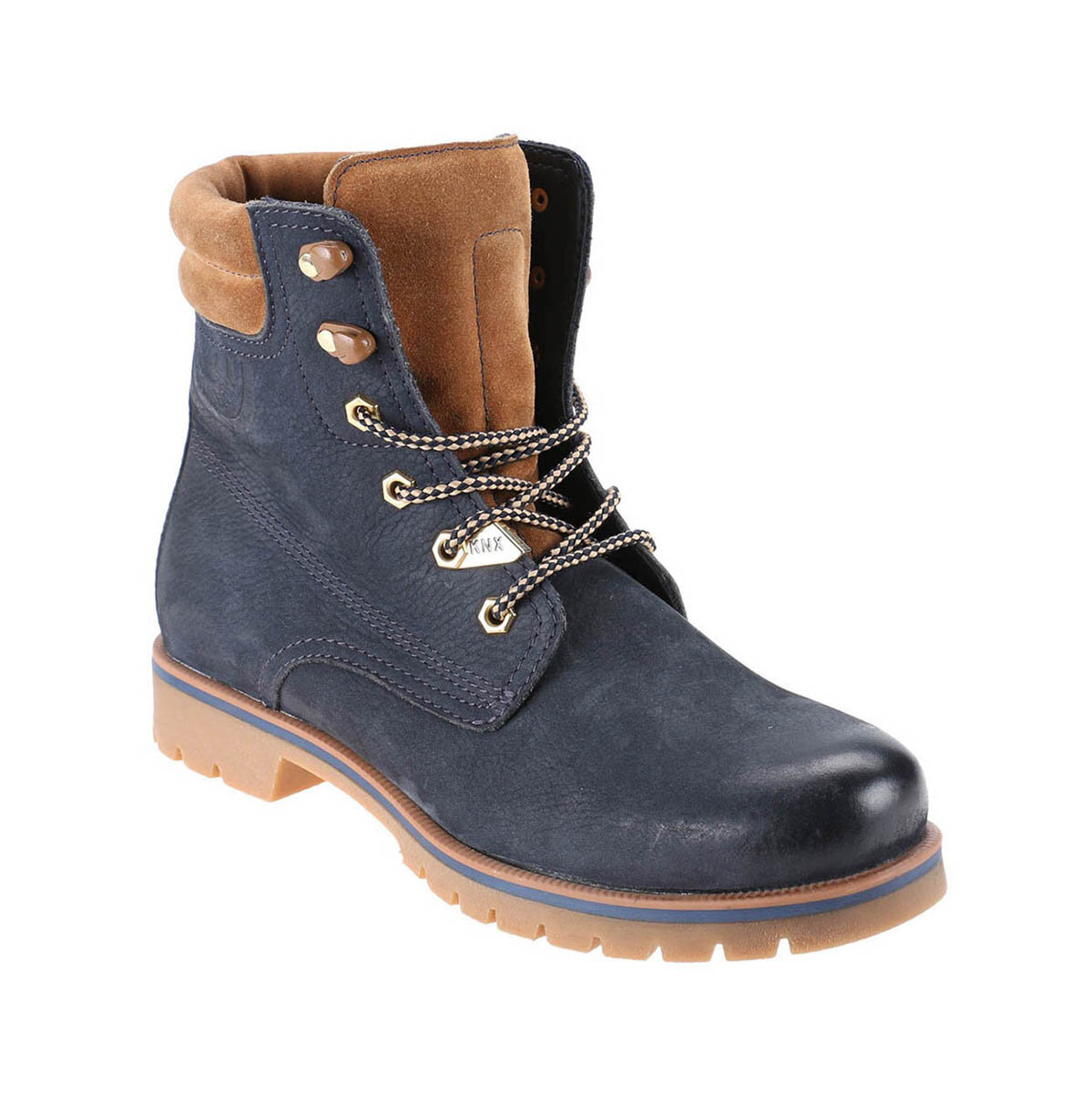 FLO 1252216 Navy Blue Men 'S Boots KINETIX