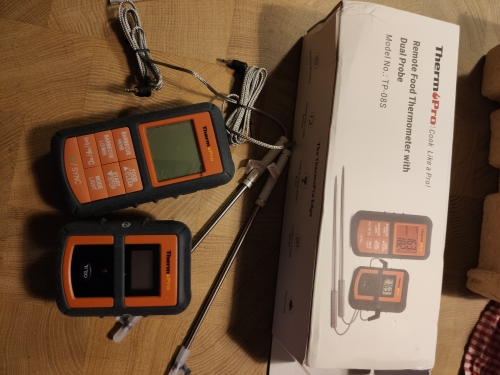 Wireless Remote Food Kitchen Thermometer photo review