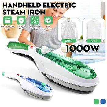 1000W Handheld Garment Steamer Brush Portable Steam Iron For Clothes Generator Ironing Travel Steamer Underwear Steamer Iron handheld steamer kitfort кт 916 handheld steamer for clothes steam generator for home steam cleaner home appliances steamer vertical