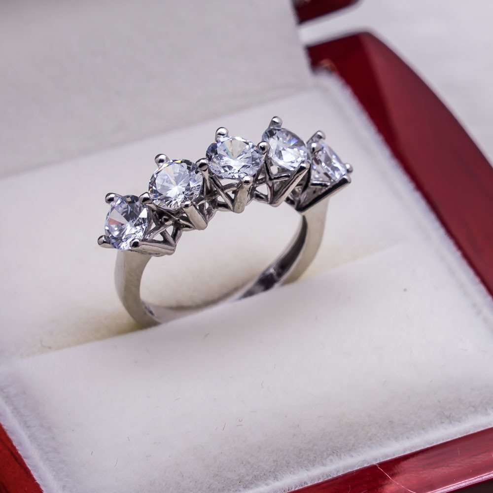 925 sterling Silver Dibs Lady Ring Model 21()