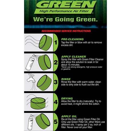 BKA124 Green фильтр Универсальный цилиндрический Bka124 - 3