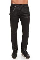 CR7 Jeans voor mannen Kleur Zwart Casual Jeans Casual Slim Dunne Rechte Krullend met Zakken CRD017A