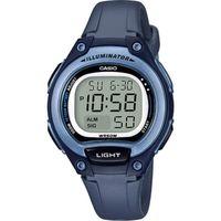 Casio Children Women's Girls Wristwatch Digital Casio Original Watch LW 203 2AVDF Sports Luxury Fashion Blue Quartz Resin Strap