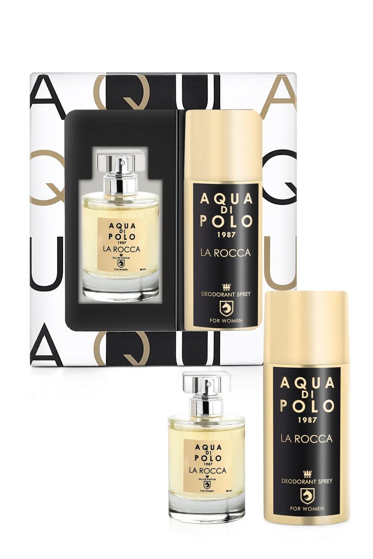 Aqua Di Polo 1987 La Rocco Female Perfume-Deodorant Set