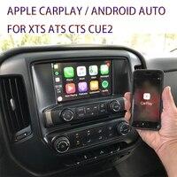 Apple Wireless CarPlay Module Mirror link Android Auto Retrofit for Cadillac XTS CTS ATS Silverado Suburban CUE Intellilink