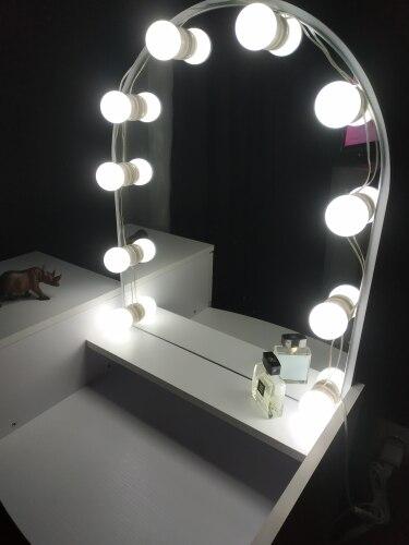 Luminárias de parede Maquiagem Espelho Iluminado