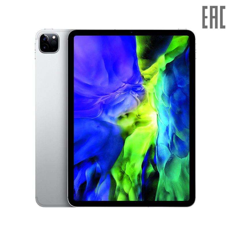 "Планшет Apple iPad Pro 11"" (2020) Wi-Fi + Cellular 128 ГБ Liquid Retina Display (MY2V2RU/A, MY2W2RU/A)"