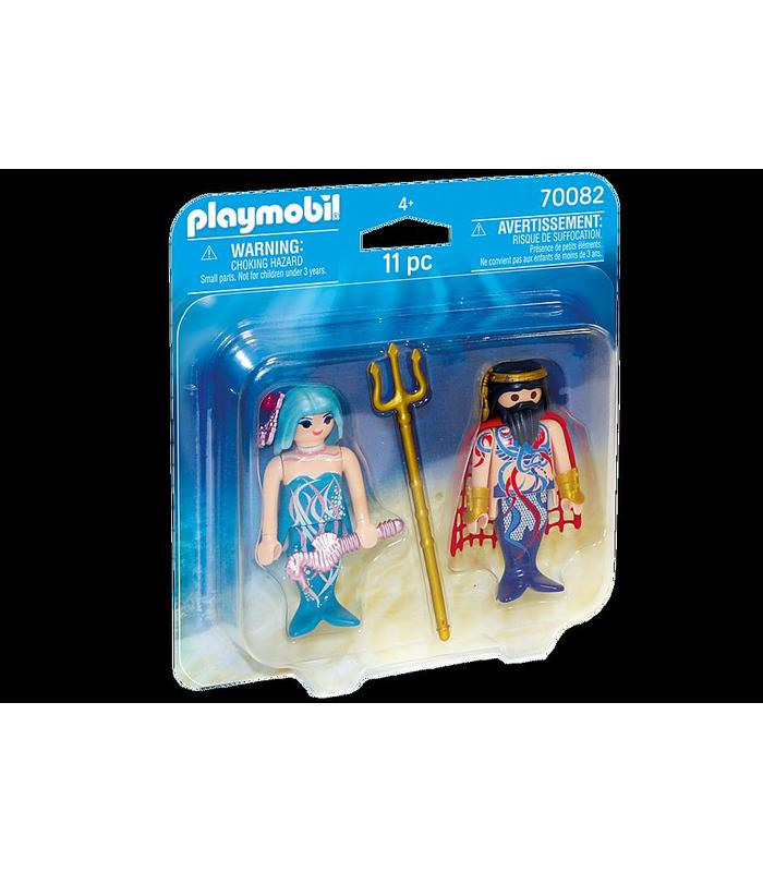 Playmobil 70082 Duo Pack Sea King And Siren Toy Store