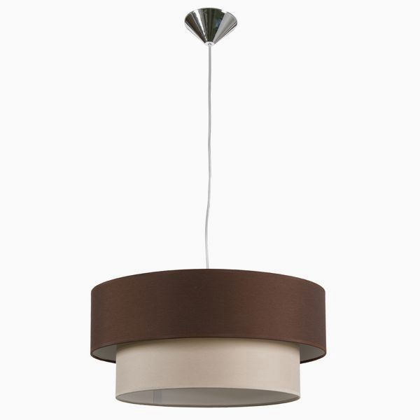 Ceiling Light Cotton And Polyester (40 X 20 Cm)
