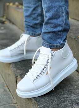CHEKİCH męskie skórzane buty aksamitne buty z wysokiej jakości butami WHİTE Najbardziej stylowy wygląd Obniżona cena i bezpłatna wysyłka tanie i dobre opinie Buty derby TR (pochodzenie) Dla osób dorosłych Buty casualowe