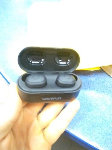 Wavefun X Pods 2L Bluetooth 5.0 Earphone AAC Wireless Headphone IPX5 Waterproof Headset Earbuds with Mic-in Bluetooth Earphones & Headphones from Consumer Electronics on AliExpress