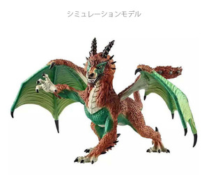 Kids Dragons Model gift Toy Decoration Doll Action Figures Dinosaurs Magic Dragon animals world Adult Solid Gifts for children(China)