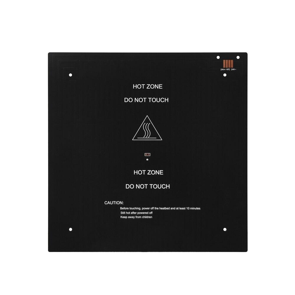 alumínio mk3 do heatbed 310*310*3mm 12v preto