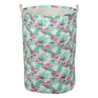 Wäsche korb Gedruckt 111133-in Faltbare Taschen aus Heim und Garten bei
