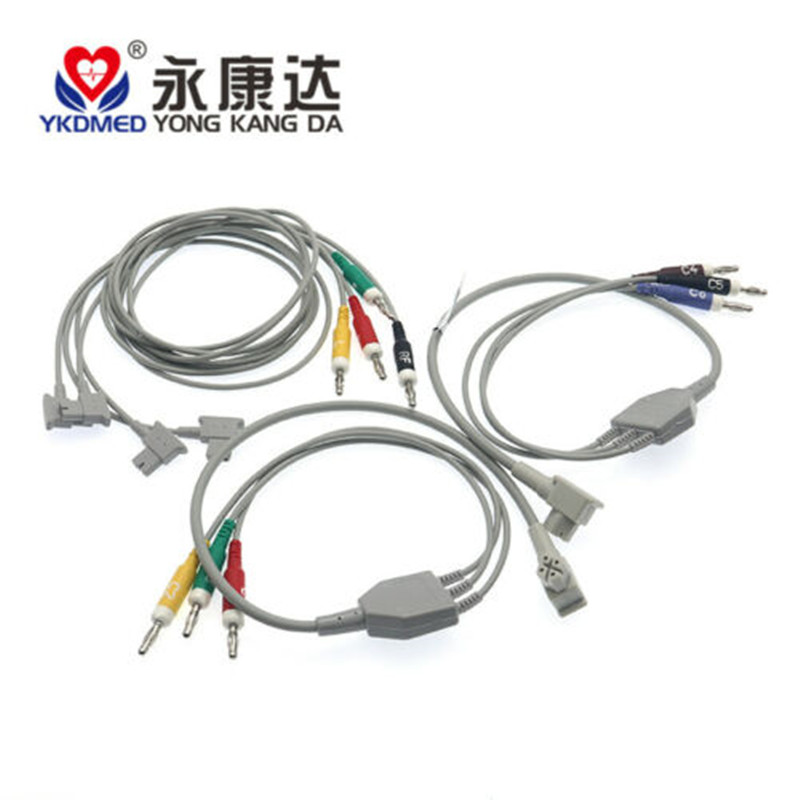 Compatible Philips Pagewriter TC30 TC50 TC70 EKG Cable 10 Lead Banana 4.0 IEC