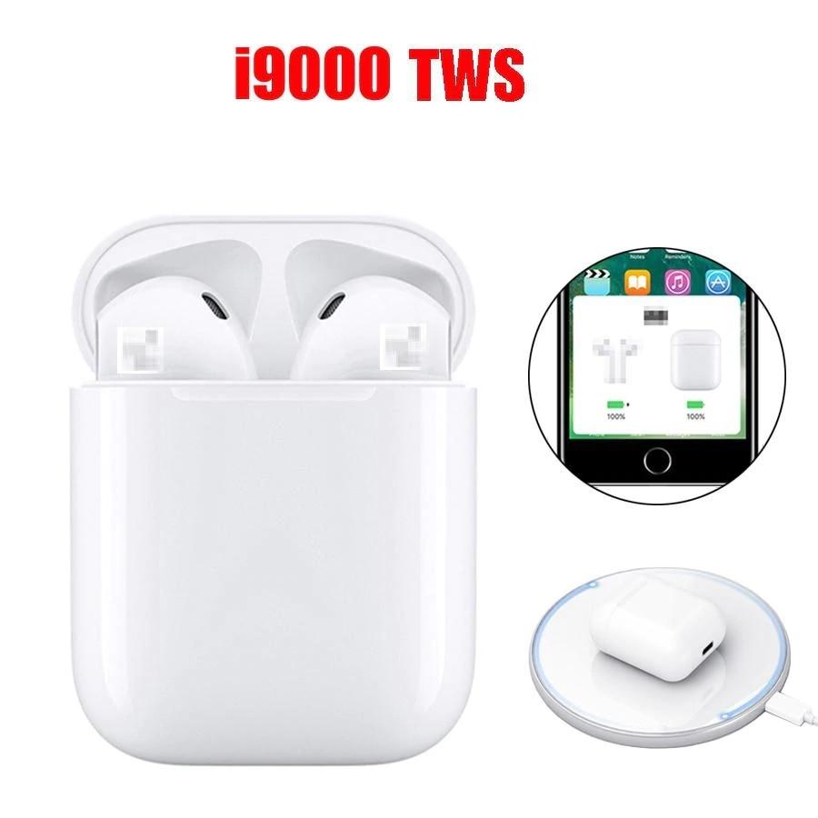 V5.0 i9000 Fones De Ouvido sem fios Bluetooth fone de Ouvido sem cabo de Carga QI Originais de Melhor qualidade do mercado a partir de Espanha