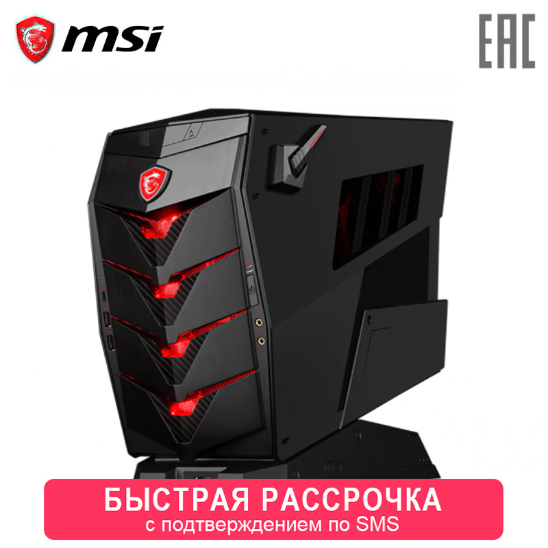 Игровой компьютер MSI Aegis 3 8RC-023RU/i7 8700/8 ГБ/2000 + 256 SSDGb/GTX1060 6 ГБ /DVDrw/BT/WiFi/black/Win10 (9S6-B91811-023)