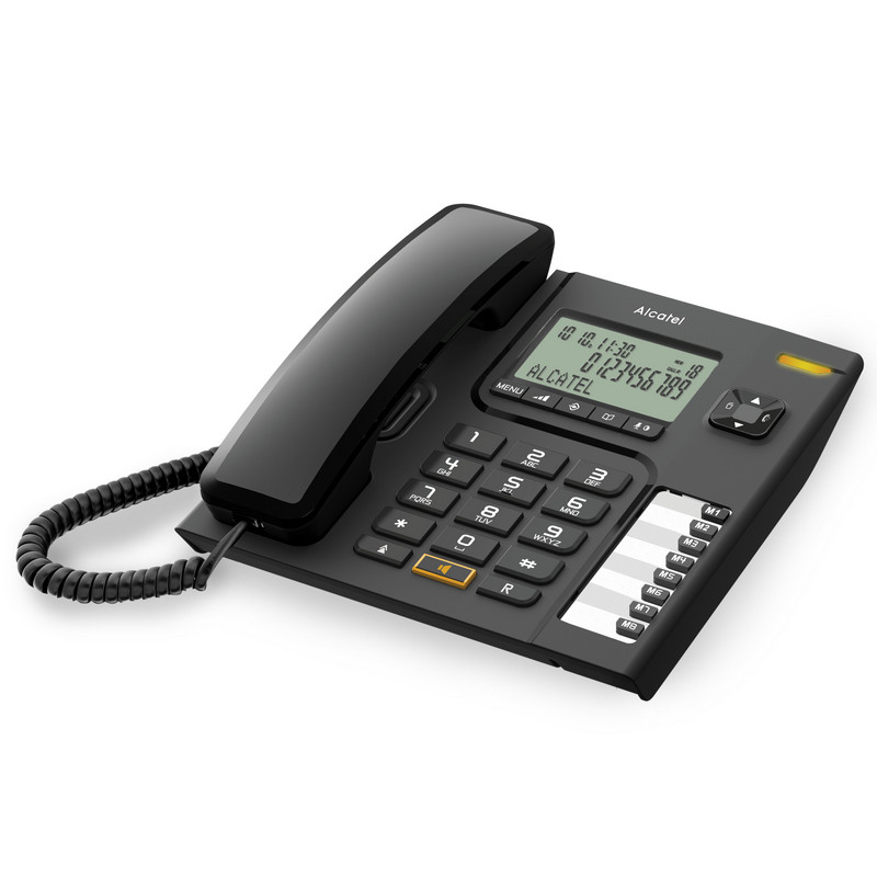 Стационарный телефон Alcatel Versatis T76 DECT LED черный