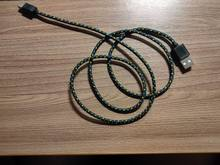 Half meter cable USB-C, allowing you to charge the device and share files with other compu