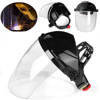 Transparent Welding Tool Welders Headset Protection Masks PVC Helmets Anti-splash Droplets Safety Protective Equipment - discount item  40% OFF Welding & Soldering Supplies