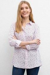 US POLO ASSN. Rosa Gedruckt Regelmäßige Hemd