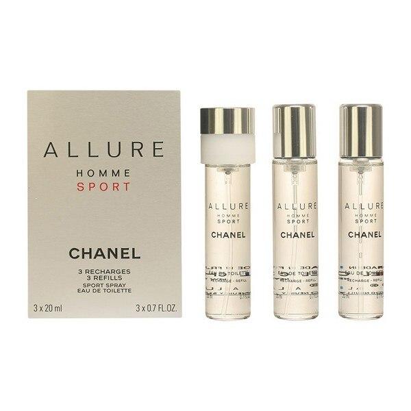 Men's Perfume Set Allure Homme Sport Chanel EDT