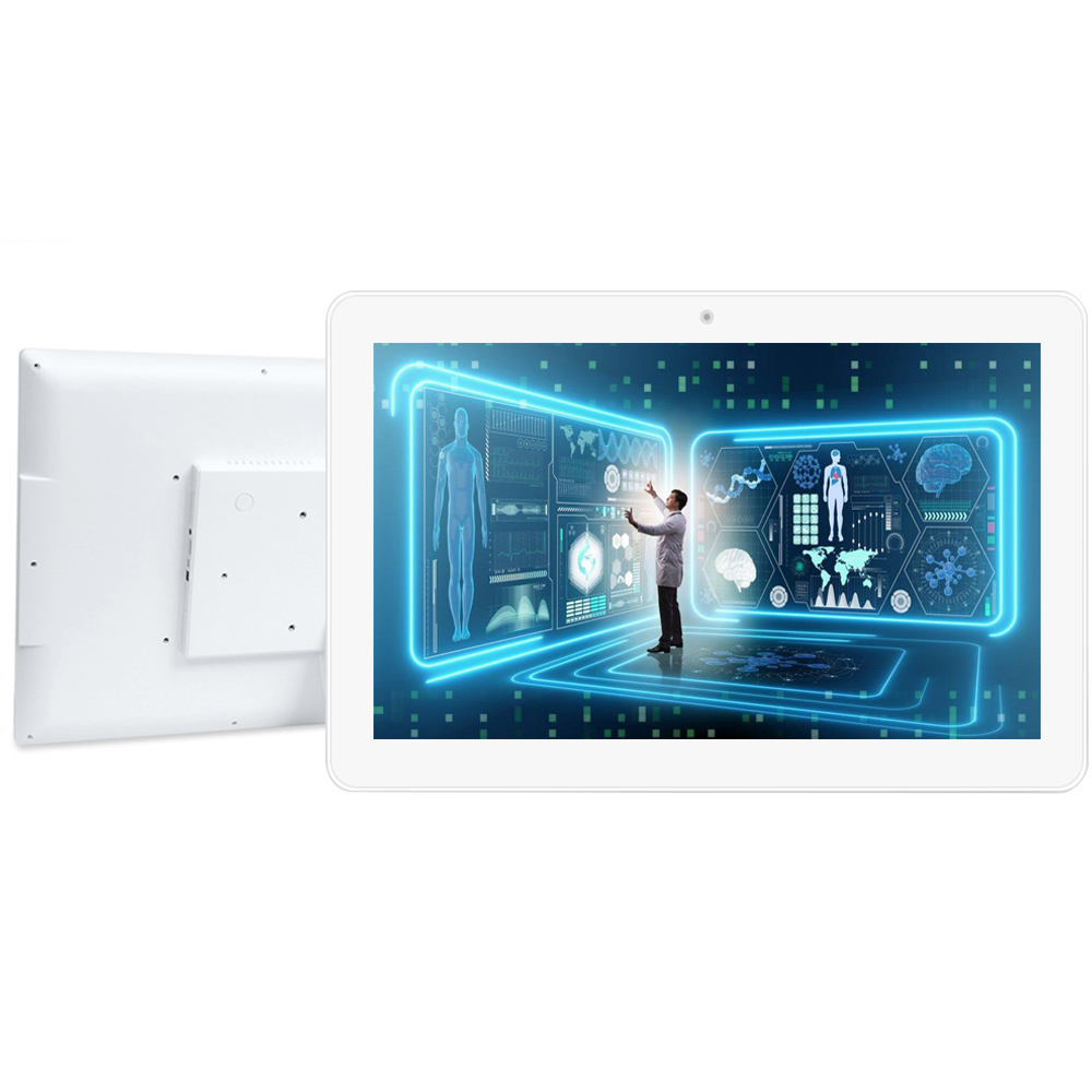 18.5 Inch Android Touch Screen Interactive Advertising Display White Open Source, Wifi, Ethernet For Network, Rooted