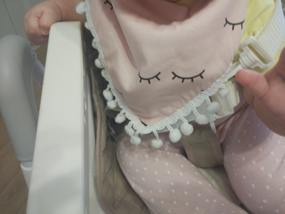 Colorful Triangular Baby Bib photo review