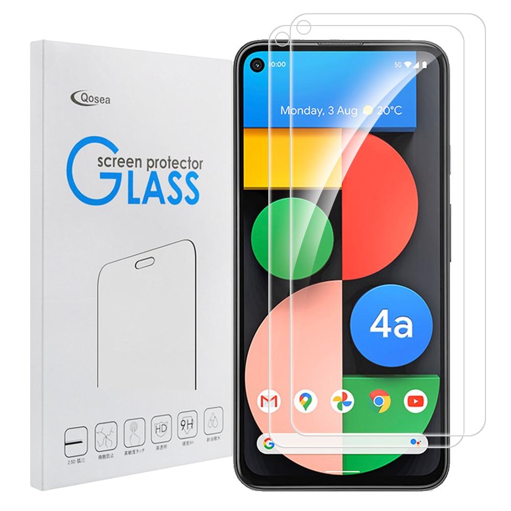 2 шт., закаленное стекло, защита для экрана для Google Pixel 4a 5G Pixel 5 XL Pixel 5 Pixel 4, стекло XL, Защитная пленка для экрана