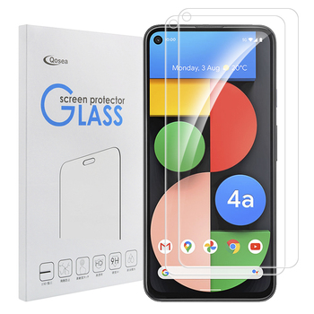 2 Pcs Tempered Glass Screen Protector For Google Pixel 4a 5G Pixel 5 XL Pixel 5 Pixel 4 XL Glass Screen Guard Protective Film