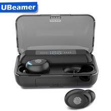 Ubeamer Bluetooth Earphones True Wireless Earbuds TWS With Battery Charging Case Waterproof in-Ear Stereo with Mic Binaural Call(China)